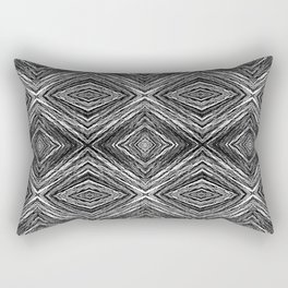 Memories of Woven Grass, Smoke Rectangular Pillow