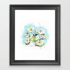 Plenty of Plants Framed Art Print