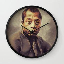 James Baldwin, Author Wall Clock