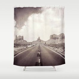 Road to the Giants Shower Curtain