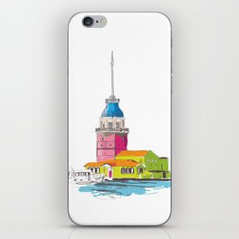 Maiden's Tower, Istanbul iPhone Skin