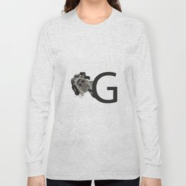 G is for Great Dane Long Sleeve T-shirt
