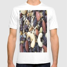 NUTS Mens Fitted Tee White MEDIUM