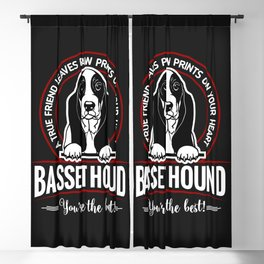 BASSET HOUND - You are The Best ! Blackout Curtain