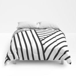 Optical Stripes Comforters