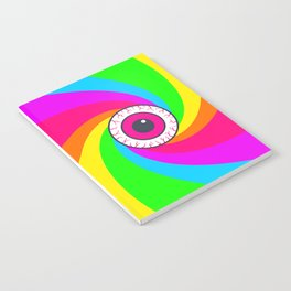 Neon Gaze Notebook