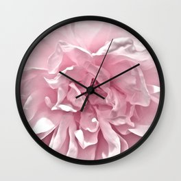 Pink Blush Rose 2 Wall Clock