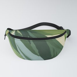 Abstract Plant Fanny Pack