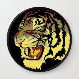 Wild At Heart Shere Khan Wall Clock