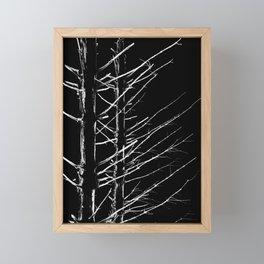 Deep Dark Woods Framed Mini Art Print