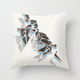 Splinter Throw Pillow