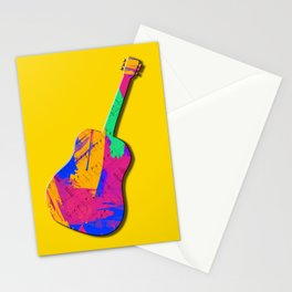 Groovy Guitar Stationery Cards