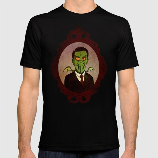Prophets of Fiction - H.P. Lovecraft /Cthulhu T-shirt