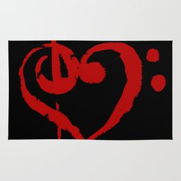 The Treble With Love Rug