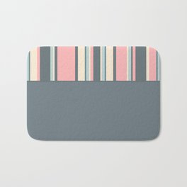 Candyman Cotton Candy in Gray Variant Bath Mat