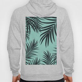 Palm Leaves Pattern Summer Vibes #7 #tropical #decor #art #society6 Hoody