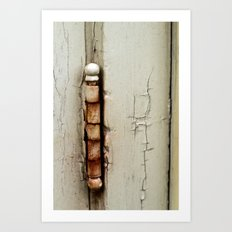 Hinged Art Print