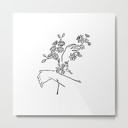 Mood flowers Metal Print