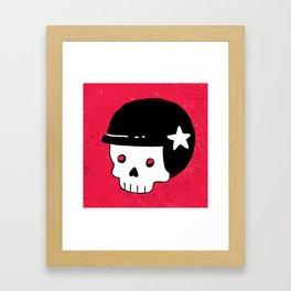 skull dude Framed Art Print