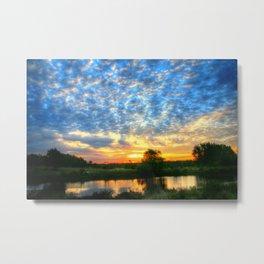 November East Texas Sunrise Metal Print