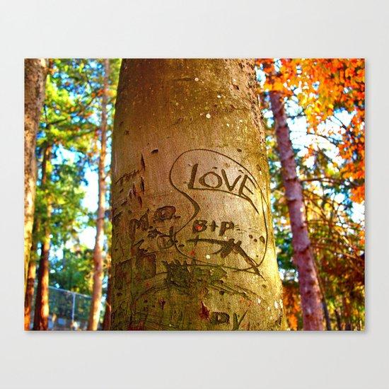 South park love Canvas Print