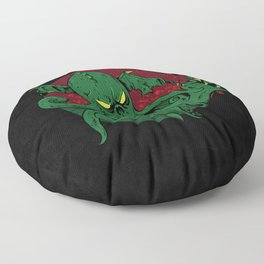 Cthulhu Cigars: Taste the Madness Floor Pillow