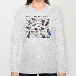 Birds of the Mid-Atlantic Coast Long Sleeve T-shirt
