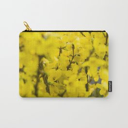 Yellow spring blooming Carry-All Pouch