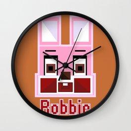 Block Robbie Wall Clock