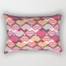 "Those lips are ""kilim"" me Rectangular Pillow"