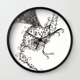 Garden Dragon Wall Clock