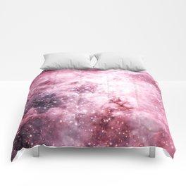 Pink Tarantuala Nebula Core Comforters