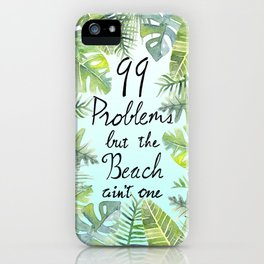 Tropical Chill iPhone Case