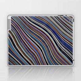Wild Wavy Lines 03 Laptop & iPad Skin