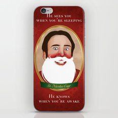 Jolly Ol' St. Nicolas iPhone & iPod Skin