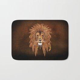 Dreadlock Lion Bath Mat