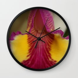 Open That Flower Wall Clock