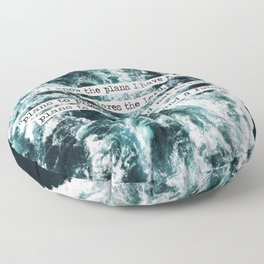 Jeremiah Ocean Floor Pillow