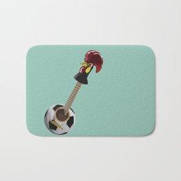 fado, soccer,and a cock from barcelos Bath Mat