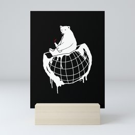 Refresh our world Mini Art Print