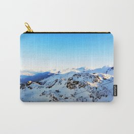 Shades of blue at the mountains Carry-All Pouch