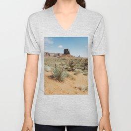 Blooming Southwest Desert Yucca Unisex V-Neck