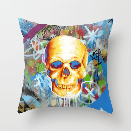 Solarized Throw Pillow