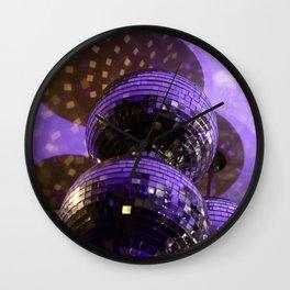 Disco Ball Wall Clock