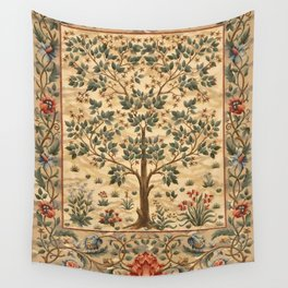 """William Morris """"Tree of life"""" 3. Wall Tapestry"""