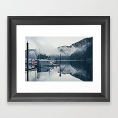 Mist Framed Art Print