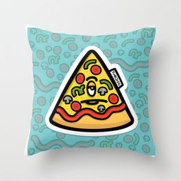 Pizzuminati Throw Pillow