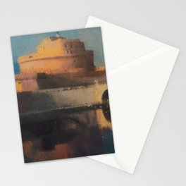 Rome Saint Angel Castle Stationery Cards