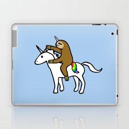 Slothicorn Riding Unicorn Laptop & iPad Skin