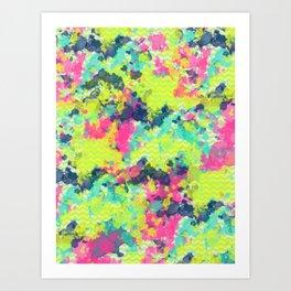 Nowhere #society6 #abstractart Art Print